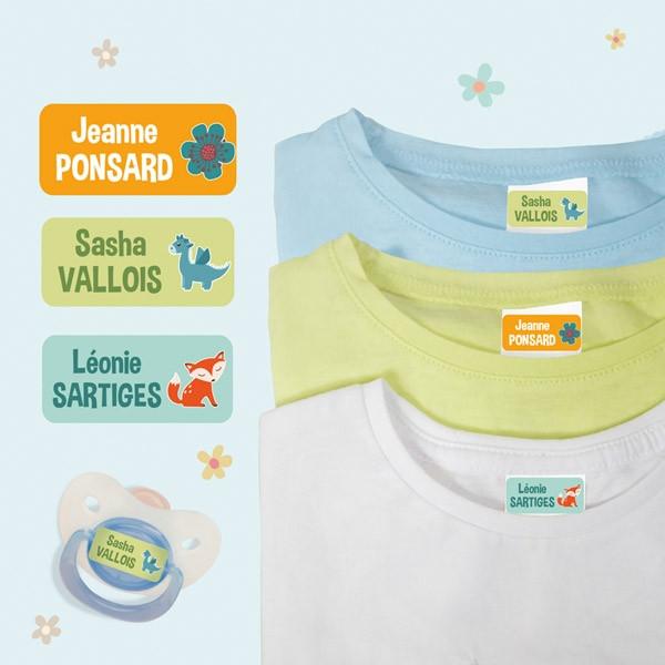 Ludisticks, Autocollants pour Vêtements Multi-texte