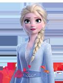 Etiquette Autocollantes Disney Reine des Neige