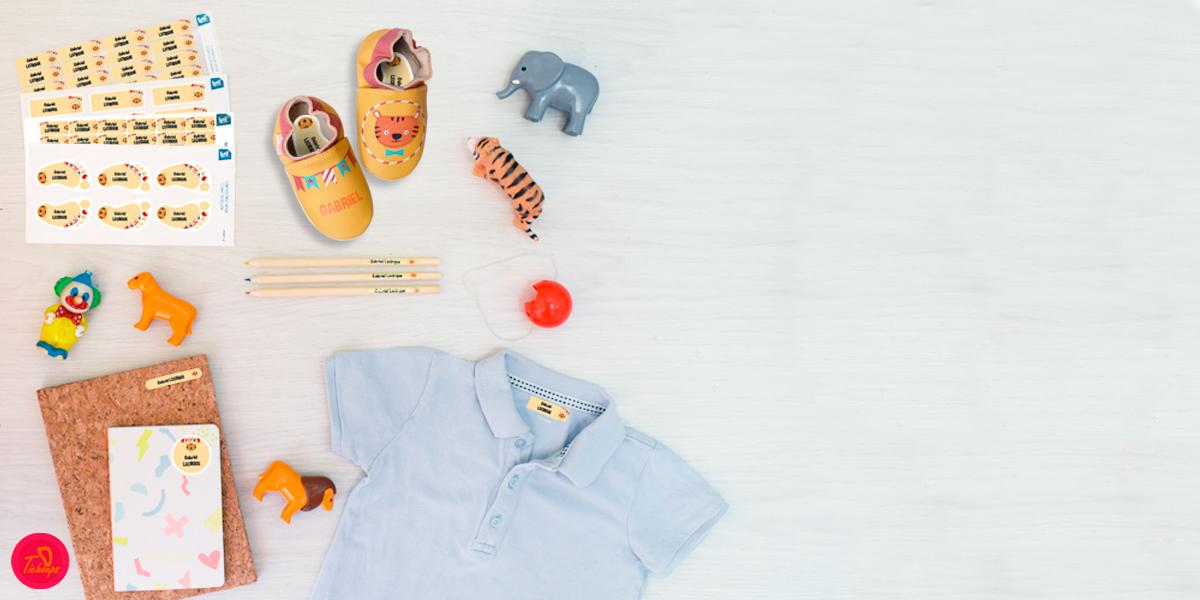 Etiquettes et chaussons personnalisés : Ludilabel X Tichoups