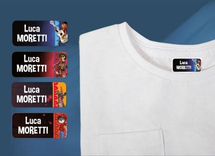 Etichette adesive Coco