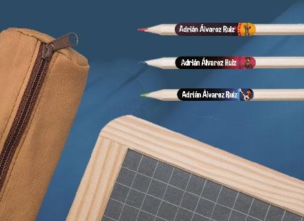 Pack escuela Coco para marcar las prendas y el material escolar!