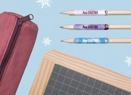 Pack escuela para marcar las prendas y el material escolar!