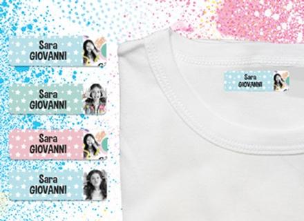 Etichette termoadesive vestiti Soy Luna