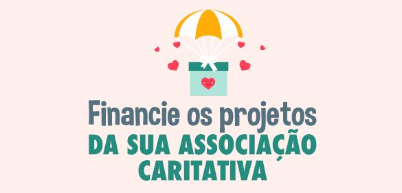 Financie os projetos da sua associação caritativa