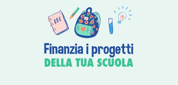 Finanzia i progetti della scuola