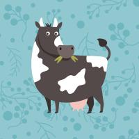 Poule, cochon, mouton, vache