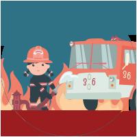 Pompier Fille