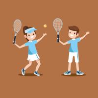 Etiquette Tennis