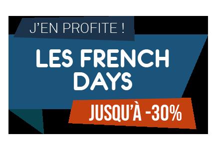 Logo French Days by Ludilabel