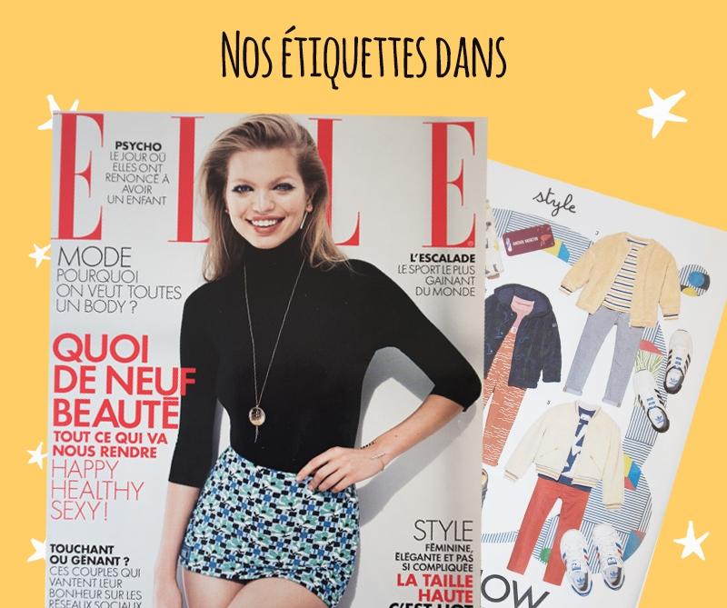 Couverture du magazine Elle - 2017