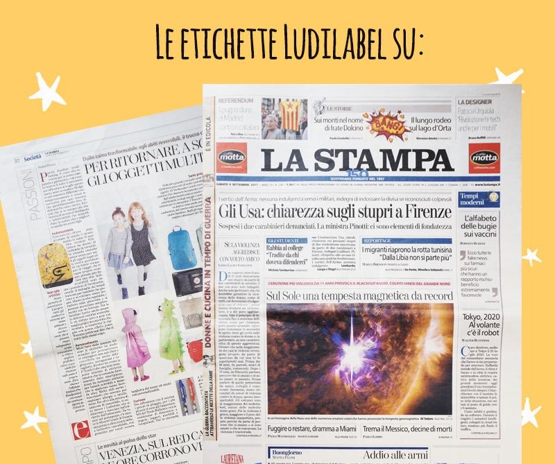 Stampa parla di Ludilabel