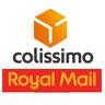 Logo Colissimo via Royal Mail