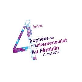 logo quatrième trophées entrepreneuriat au féminin édition 2017