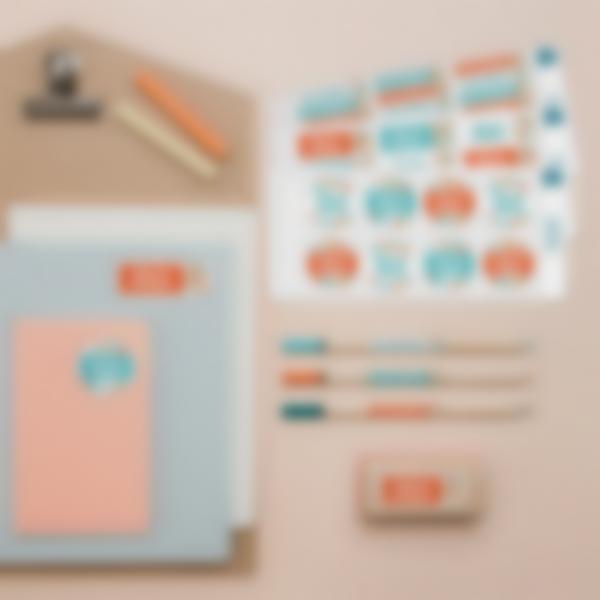 1 pack cadeau maitres etiquettes autocollantes personnalisees cahiers livres 2