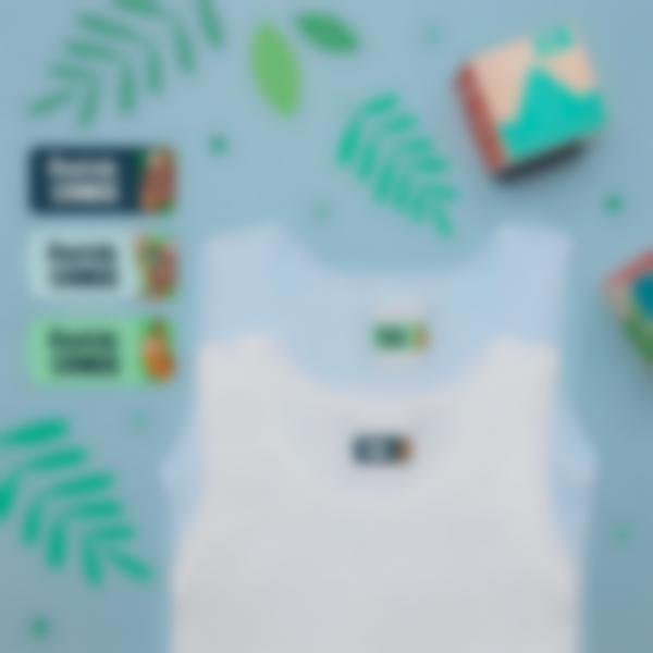2 pack etiquettes vetements objets ecole maternelle paresseux