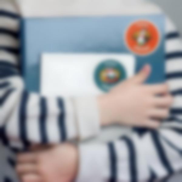 3 autocollants stickers etiquettes livre cahier ecole