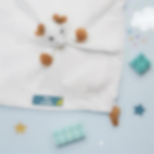 6 pack etiquettes vetements objets creche nuage