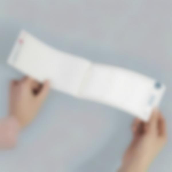 carnet etiquettes thermocollantes vierges 4