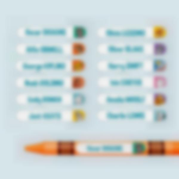 disney pets pencil name labels