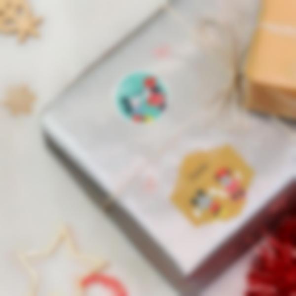 etiquetas presentes natal mickey disney 2