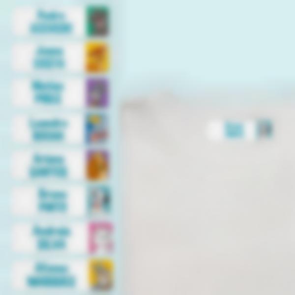 etiquetas termoadrentes disney animais