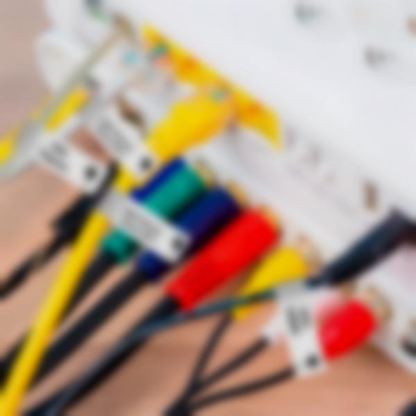 etiquette sticker autollant marquage routeur