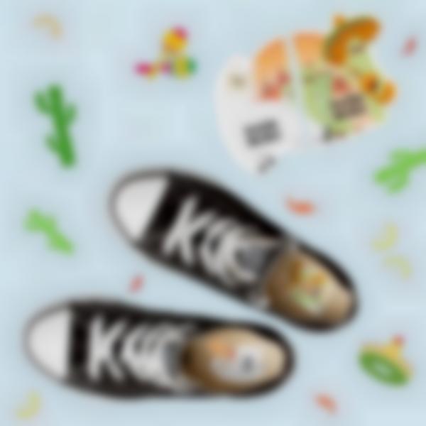 etiquettes chaussures intuitives enfant lama alpaga