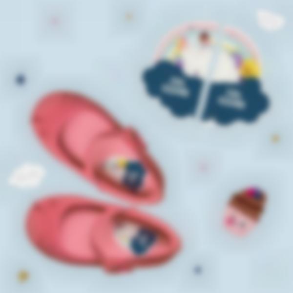 etiquettes chaussures intuitives enfant licorne
