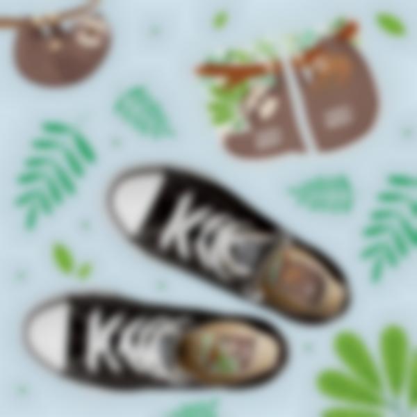 etiquettes chaussures intuitives enfant paresseux