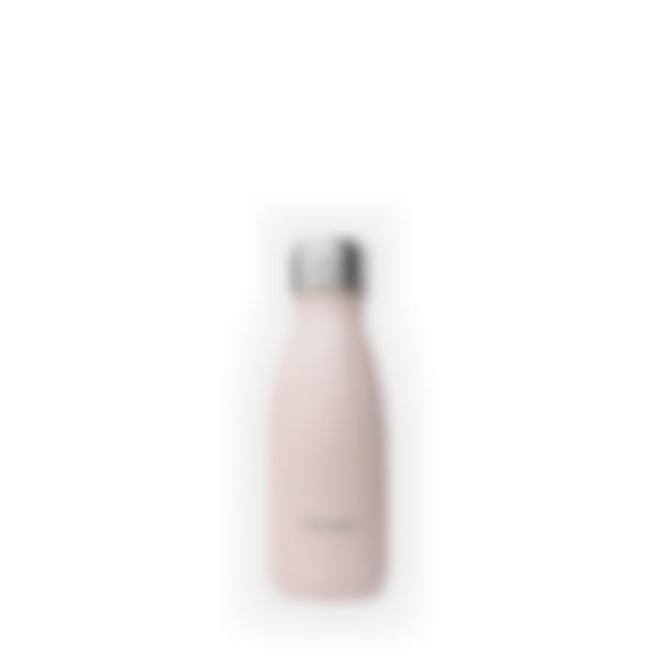 gourde isotherme inox pastel rose 260ml 1