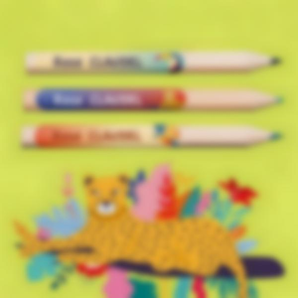 ludilabel jungle vibes etiquettes minis crauons stylos fr