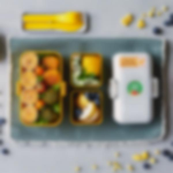 lunchbox enfant monbento tresor ambiance jaune moutarde 1