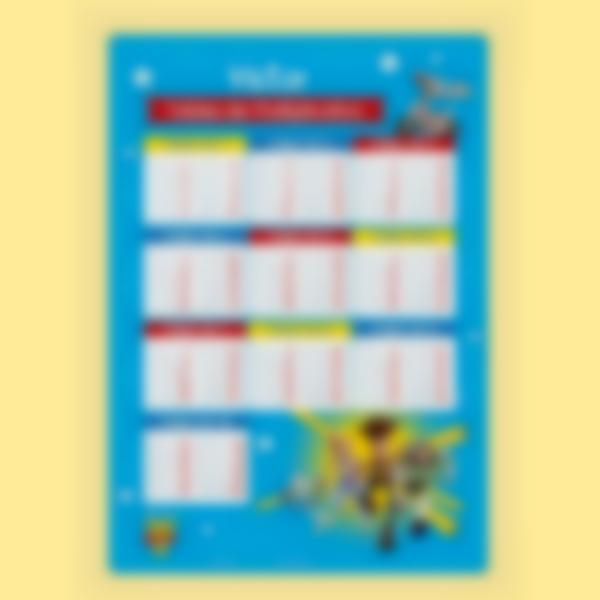 poster educatif multiplication toy story 4