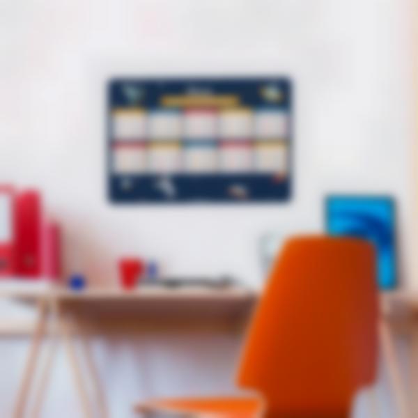 poster educatif tables de multiplication autocollants sans colle espace 1 1