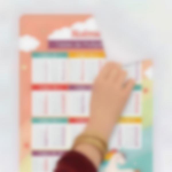 poster educatif tables de multiplication autocollants sans colle sans trace