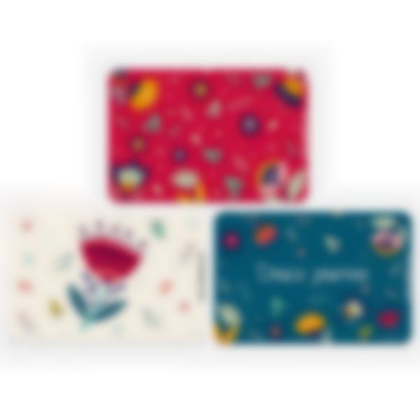 recharge cartes ludibox boite gouter floral