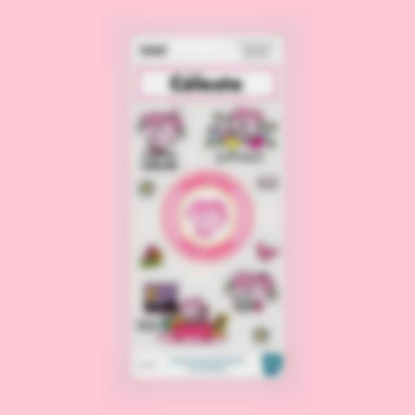 sticker fourde madame calin 1
