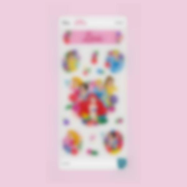 sticker gourde disney princesses  1