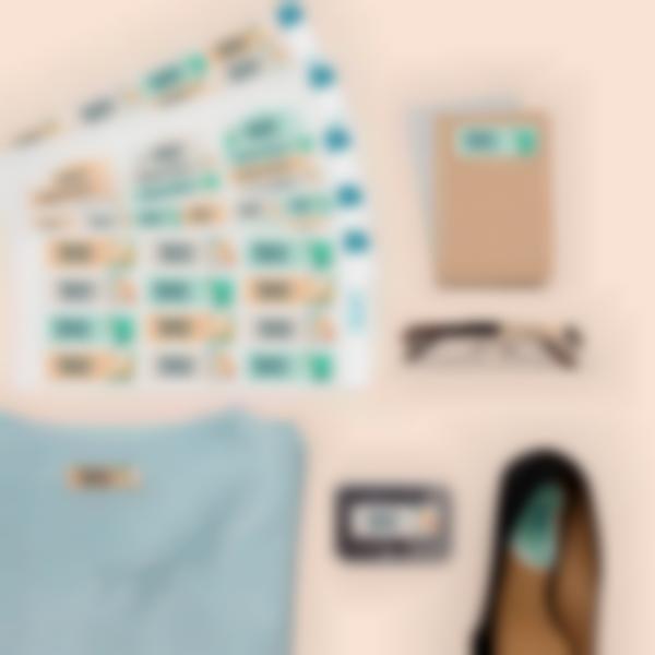 Pack étiquettes Seniors / Maison de retraite