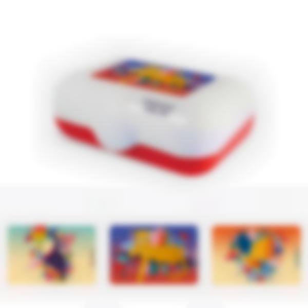 Ludibox - Boîtes à goûter rouge - Jungle Vibes