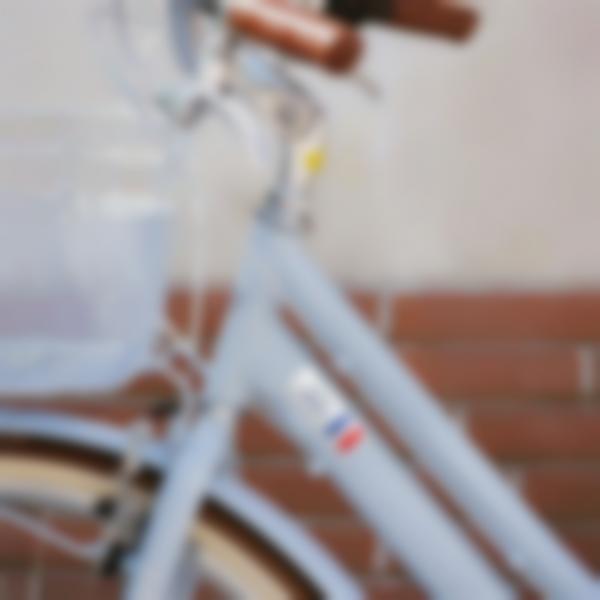 Autocollants rectangles pour les vélos