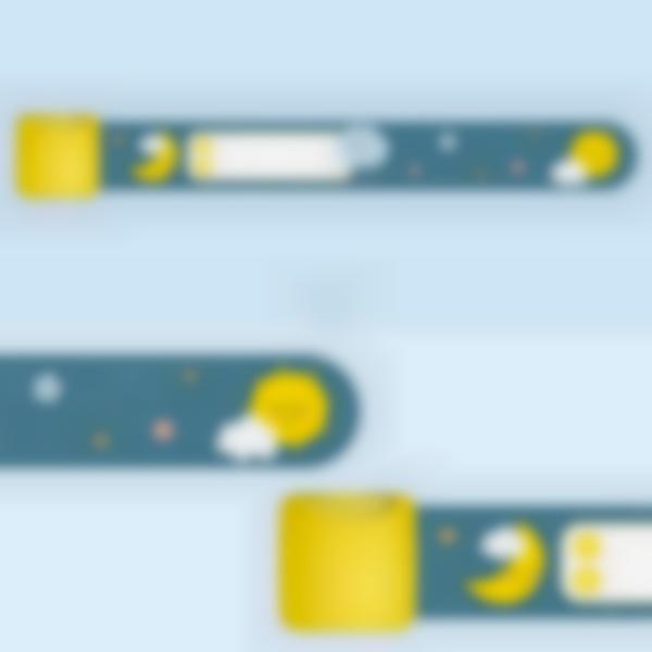 Bracelet d'identification enfant - Nuage