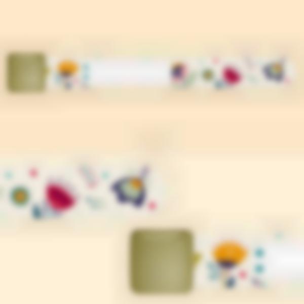 Bracelet d'identification enfant - Floral
