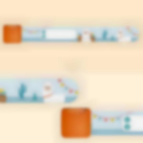 Bracelet d'identification enfant - Alpaga
