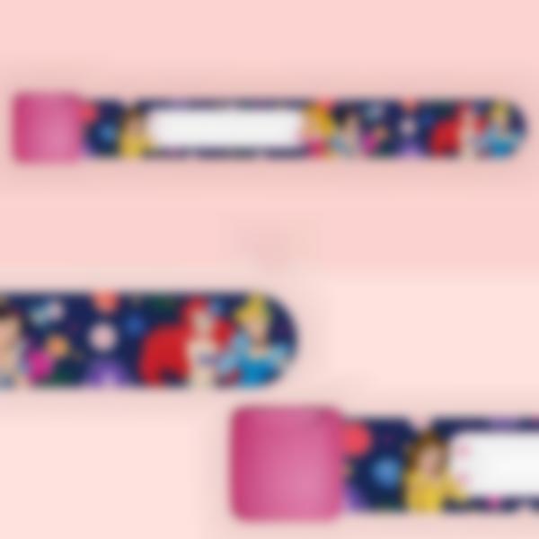 Bracelet d'identification enfant - Disney Les Princesses Fleurs