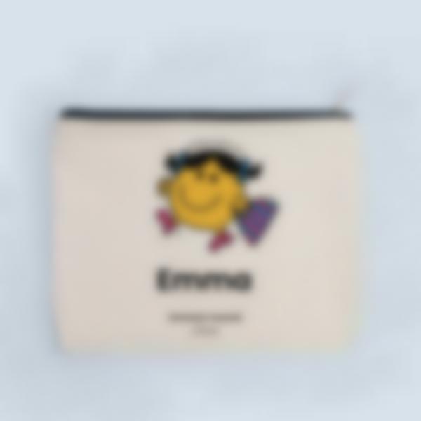 Pochette en tissu personnalisée - Madame Range-Tout