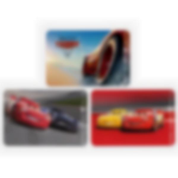 3 cartes magnétiques pour Ludibox - boîte à goûter – Disney Pixar Cars 3