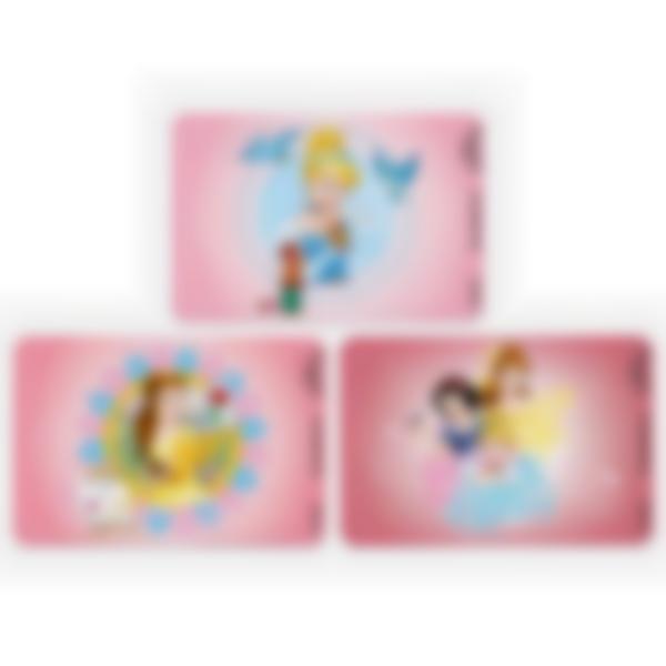 3 cartes magnétiques pour Ludibox - boîte à goûter – Disney Princesses
