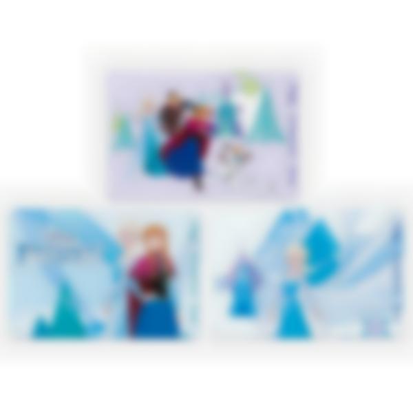 3 cartes magnétiques pour Ludibox - boîte à goûter – Disney Reine des Neiges