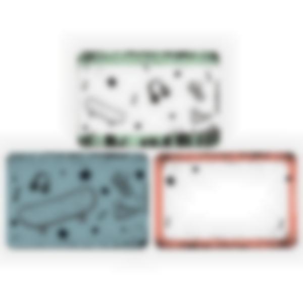 3 cartes magnétiques pour Ludibox - boîte à goûter – Culture Skate